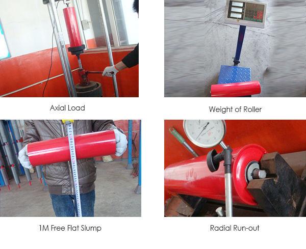 cema standard 127mm diameter steel tube conveyor idler roller