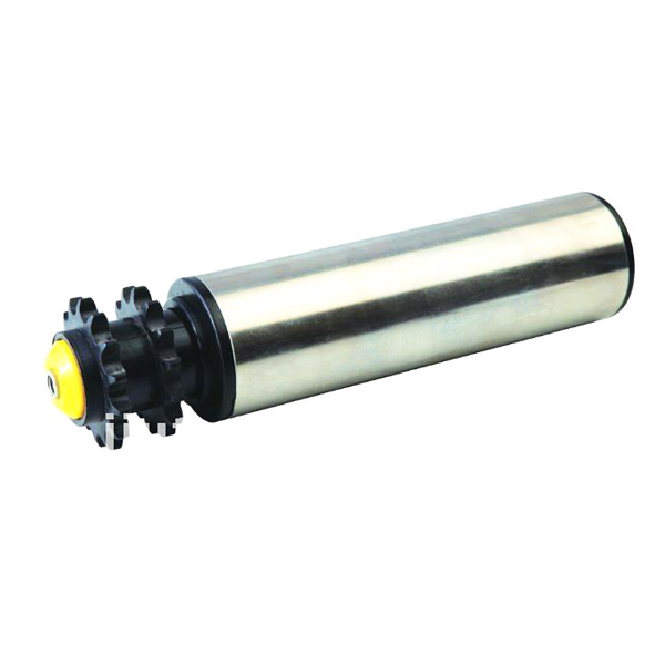 zinc plated gravity roller