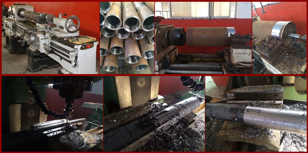 400mm diameter Rubber Coating heavy duty conveyor head drive pulley