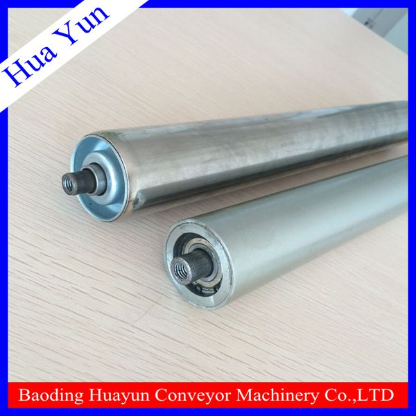 zinc plated steel gravity roller