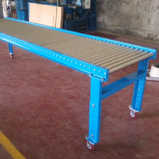 38mm steel zinc plated gravity conveyor roller