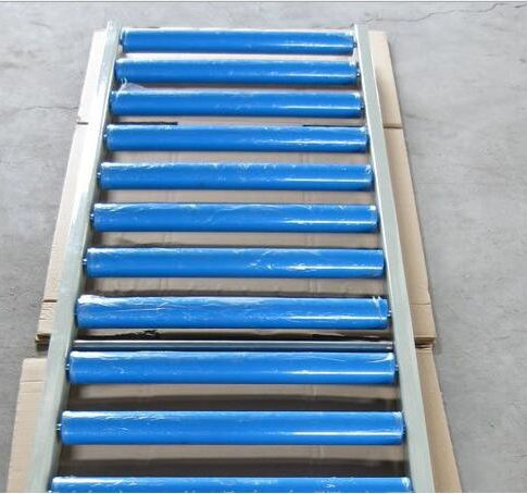 plastic gravity conveyor roller with roller end cap