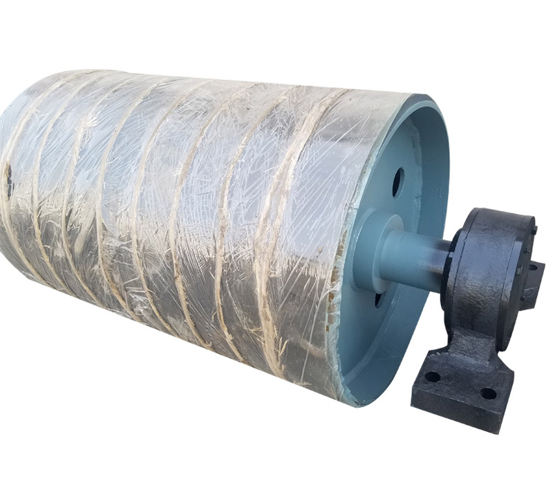 belt conveyor snub pulley