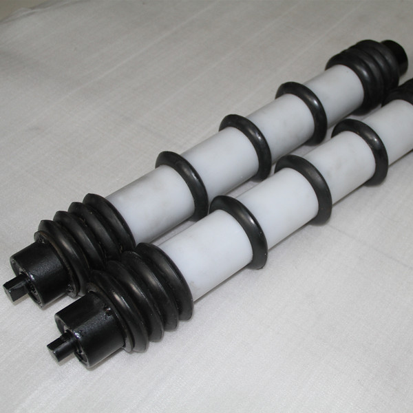 159mm dia rubber ring clean roller