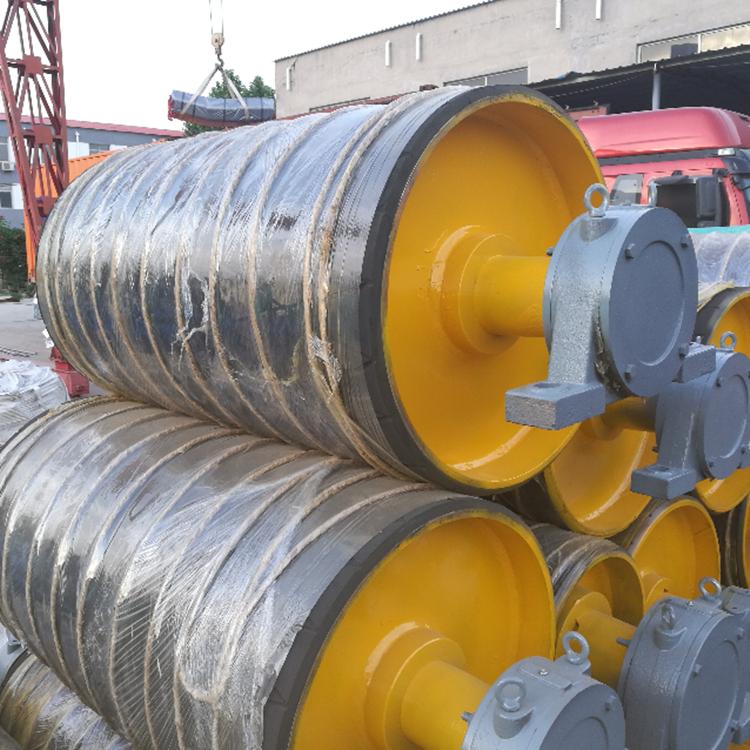 500mm diameter conveyor head drum pulley